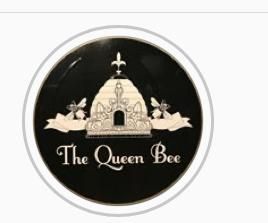 The Queen Bee Logo