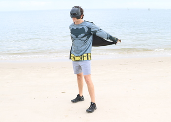 Batman Shirt, Mask & Cape