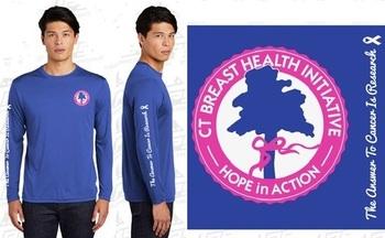 Official 2021 Race Shirt - Blue Long Sleeve Technical Shirt