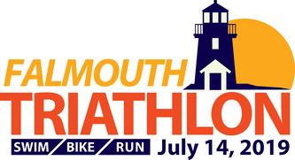 Falmouth Sprint Triathlon - 2019 logo