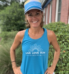 BROOKS LIVE LOVE RUN VIRGINIA TANK