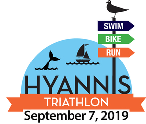 Hyannis Sprint & Olympic Triathlon - Sept 2019 logo