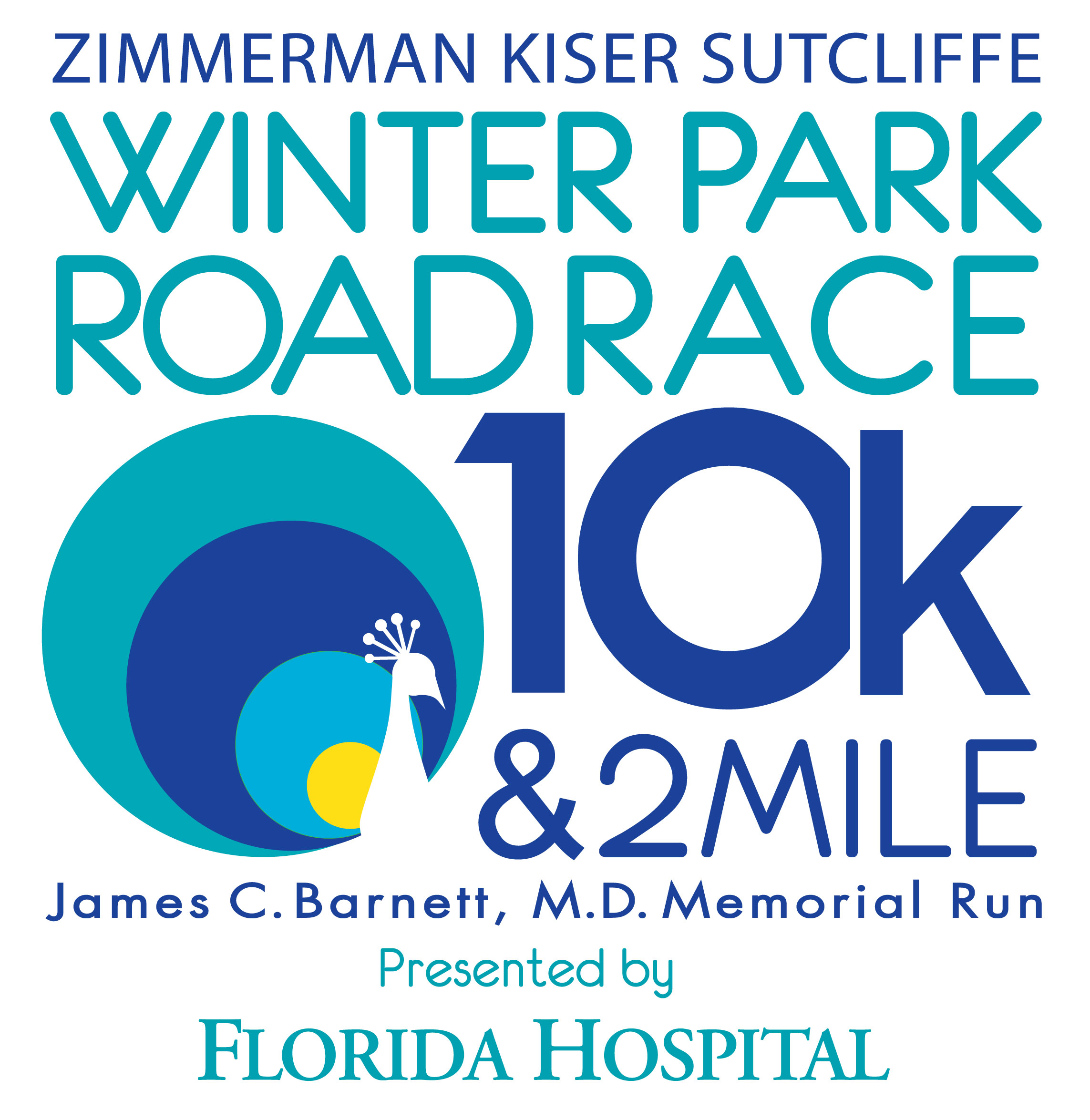 ZKS Winter Park Road Race 10k & 2 Mile presented by Florida Hospital