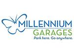Park with Millennium Garages! Logo