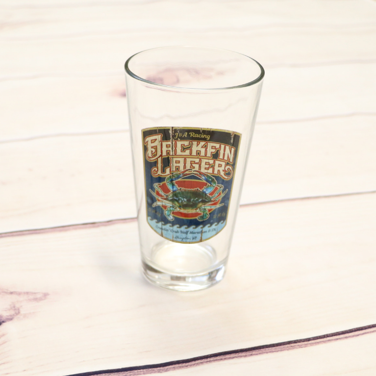 Crawlin' Crab Pint Glass