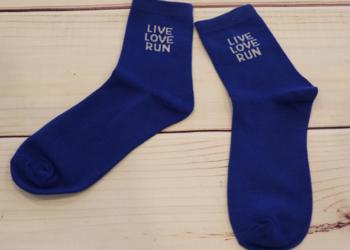 Live, Love, Run Socks