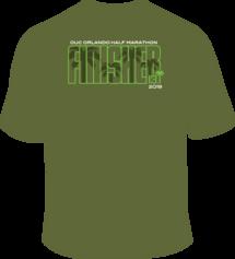 2019 Unisex Finisher Shirt - 50% OFF