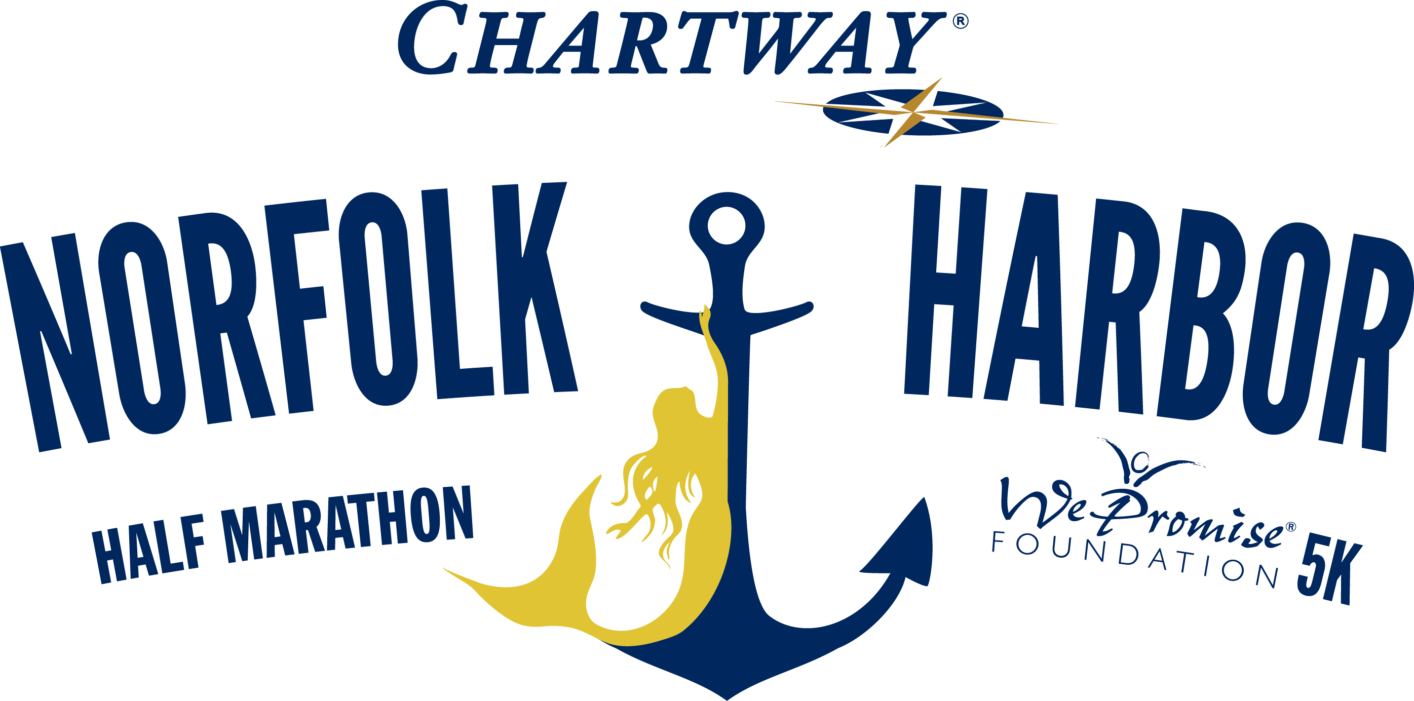 Chartway Norfolk Harbor Half Marathon, We Promise 5K and Kids Mile