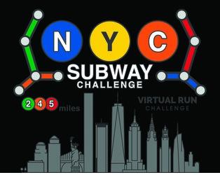 NYC Run the Subway Challenge