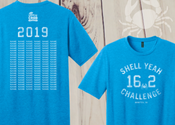 2019 Shell Yeah Challenge Finisher Tee