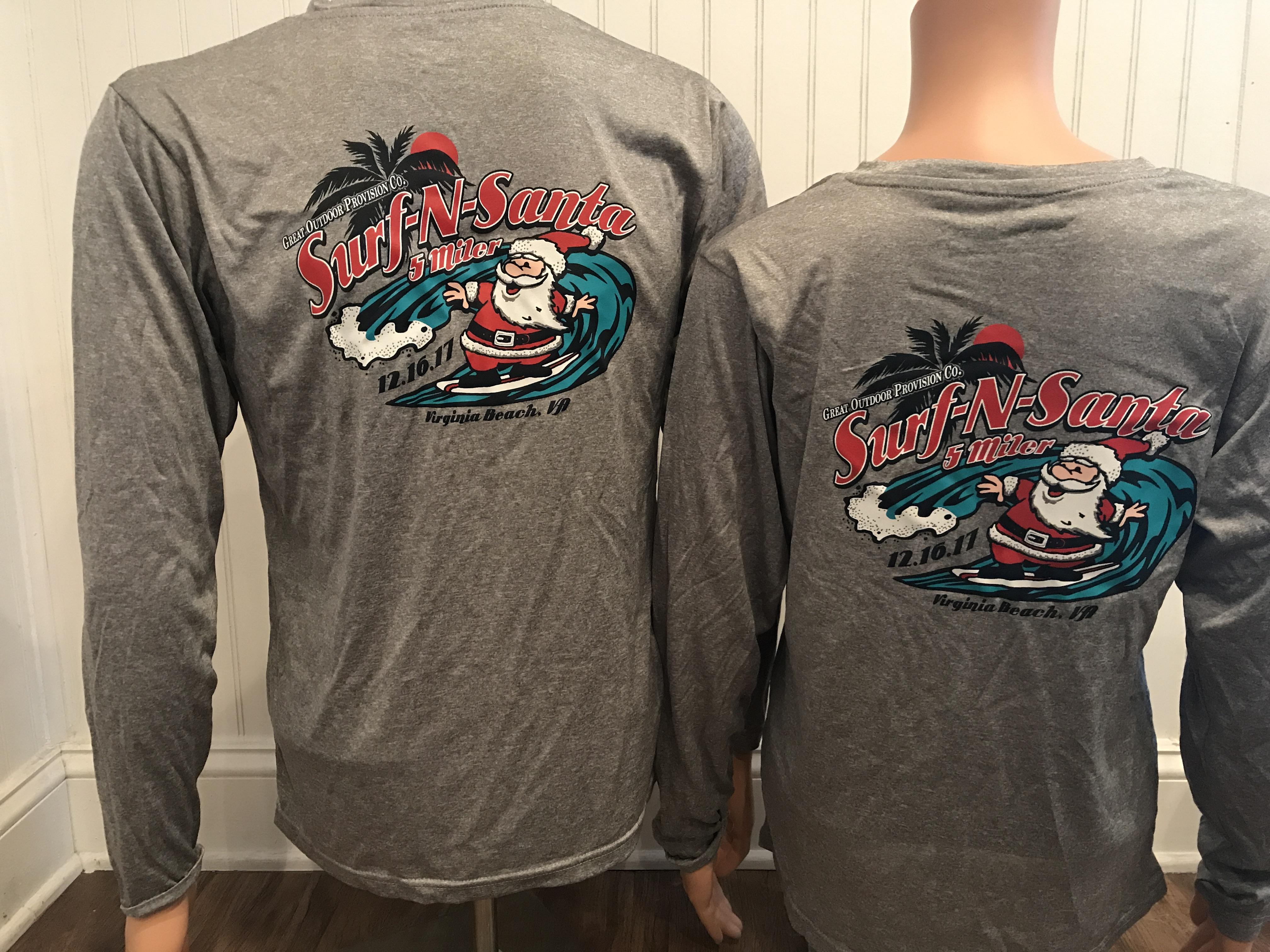 2017 Surf n Santa Race Shirt