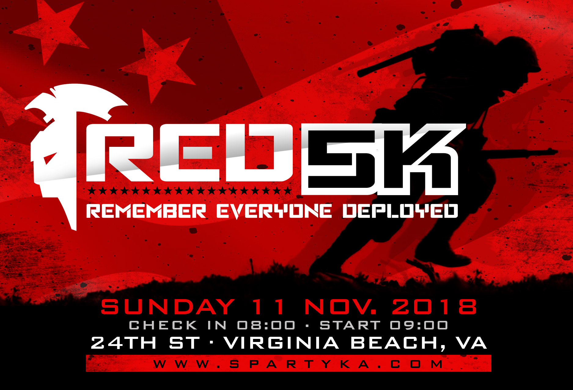RED 5k - Virginia Beach