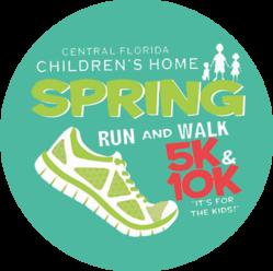 "2019 Spring  5K/10K  ""IT'S FOR THE KIDS"" logo"