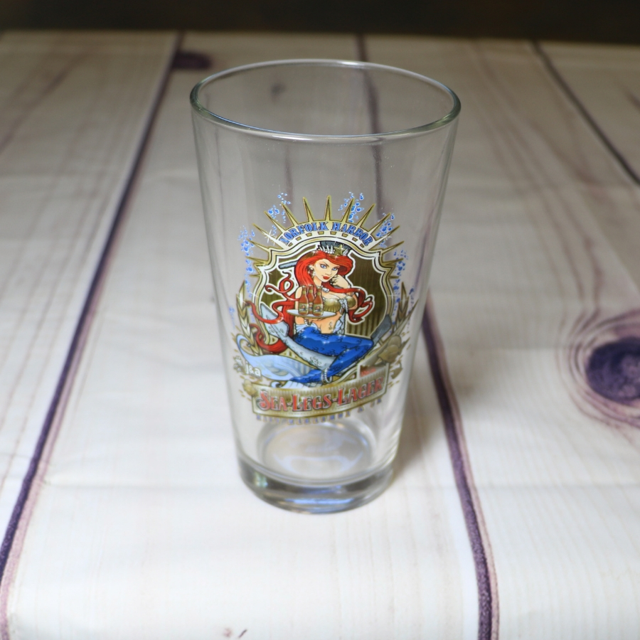 Norfolk Harbor Pint Glass