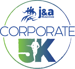 J&A Corporate 5K presented by Bon Secours In Motion Logo