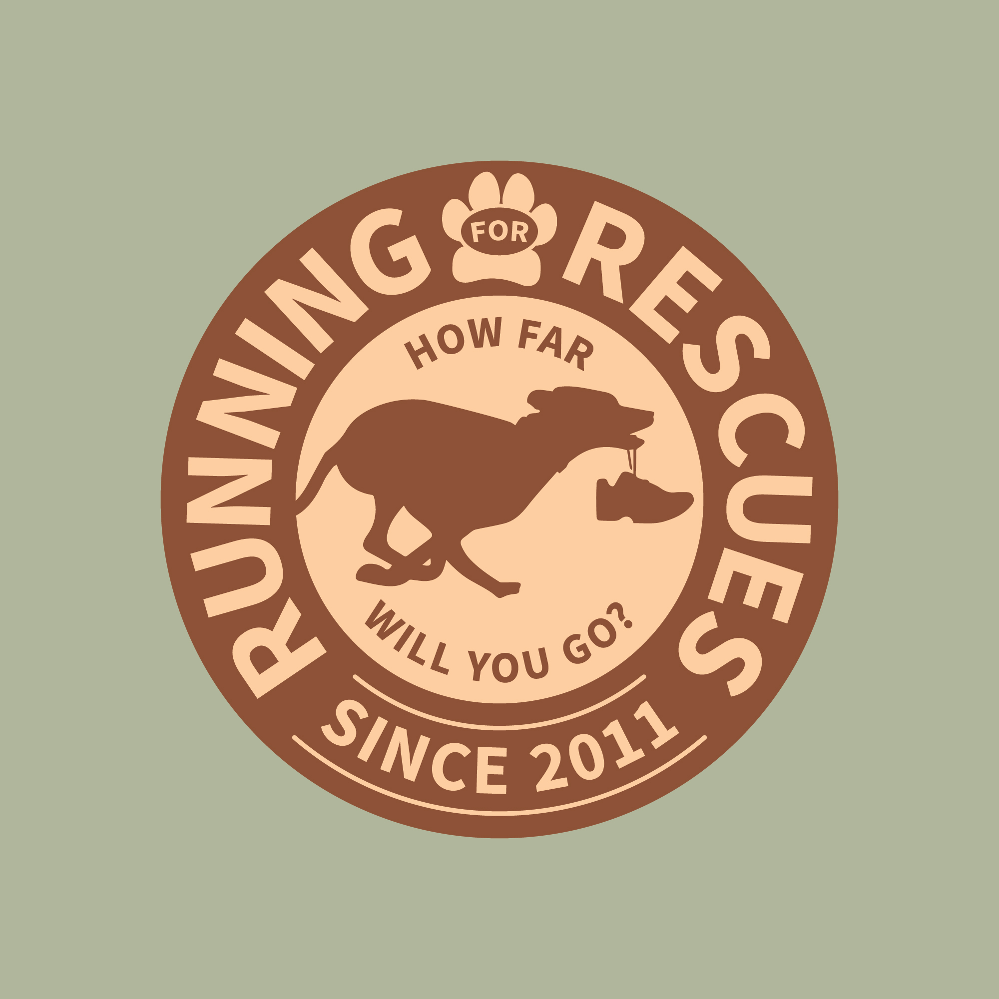 Running for Rescues Logo