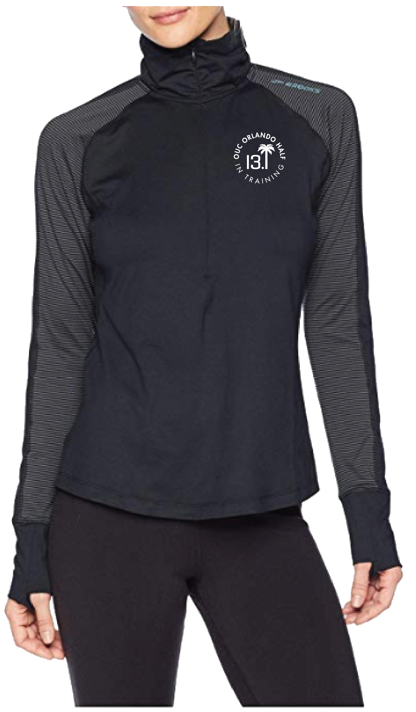 Brooks Women's Zip Up - Black