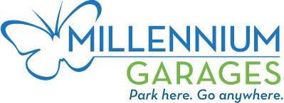 Millennium Garages Shamrock Shuffle Monthly Parking Logo