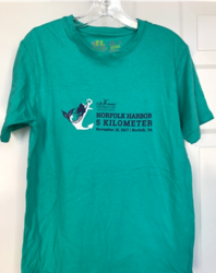 2017 Norfolk Harbor 5K Race Shirt