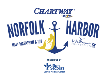 2019 Chartway Norfolk Harbor Half Marathon Weekend logo