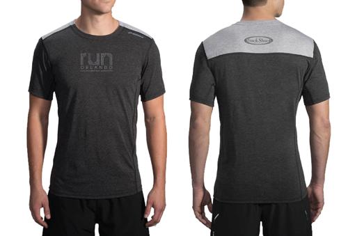Brooks Distance Short Sleeve Performance Shirt