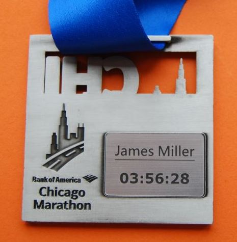 Personalize your finisher medal