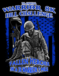Warrior 8K Challenge, Fallen Heroes 5K & Jr Warrior 1 Mile