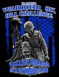 Warrior 8K Challenge, Fallen Heroes 5K & Jr Warrior 1 Mile