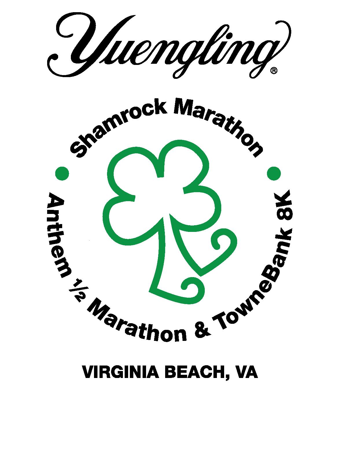 Yuengling Shamrock Marathon Weekend Logo