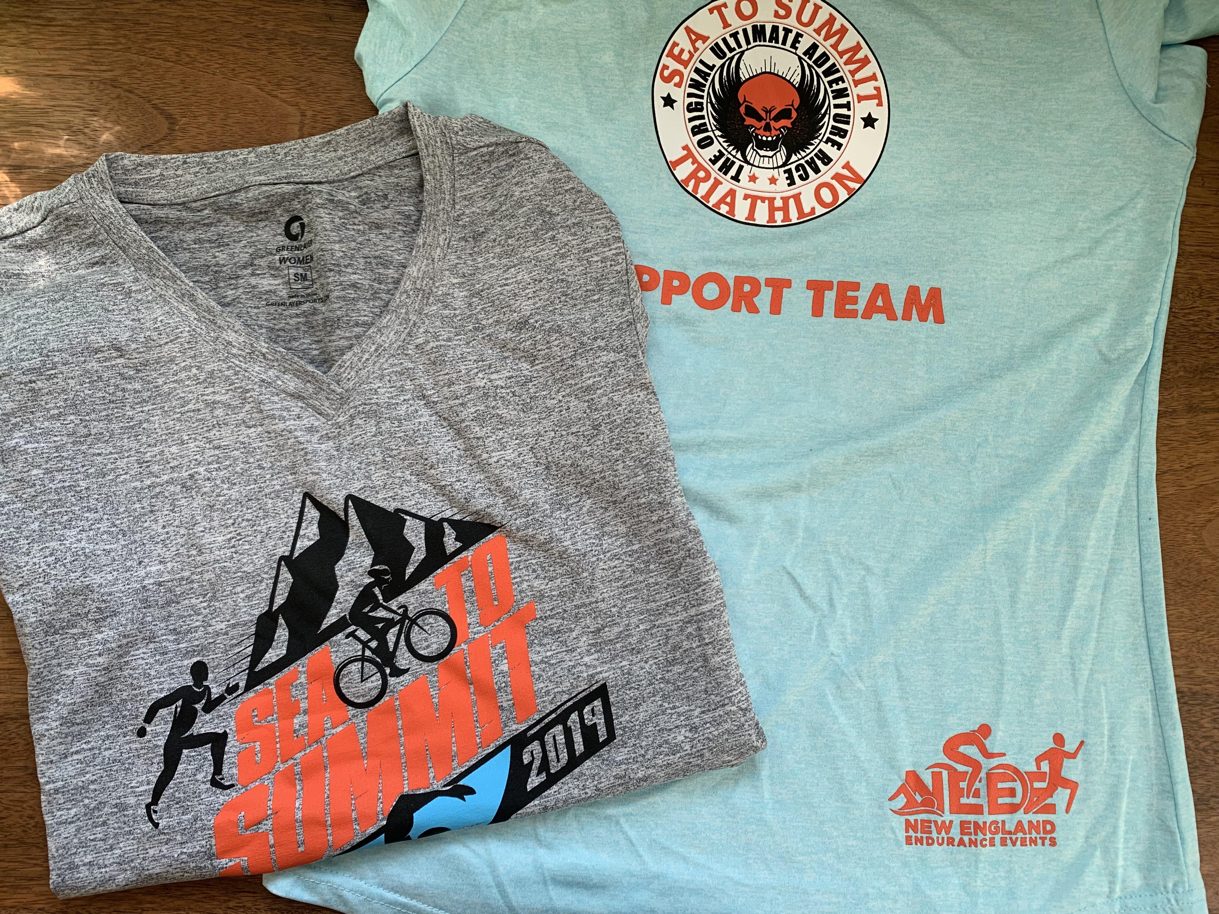 "Additional ""Support Team"" shirt"