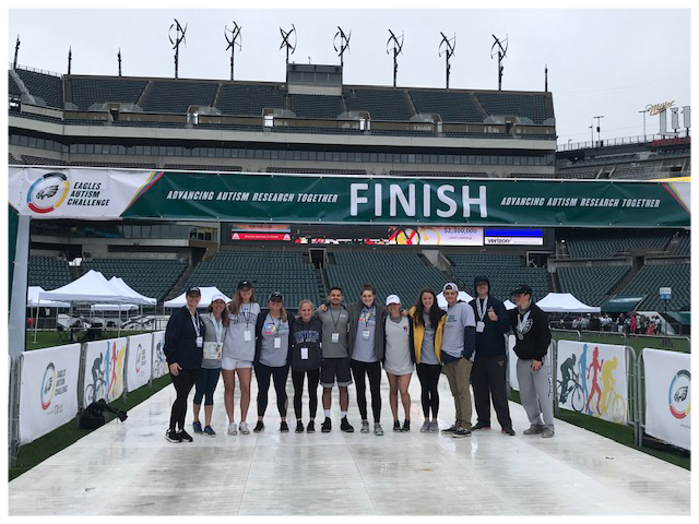 Team JKJ Fundraising Page for Eagles Autism Challenge 2019