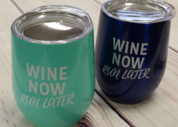 Wine Now, Run Later Tumbler