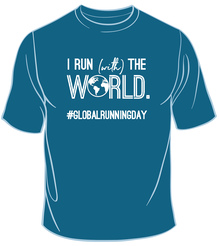 I Run (With) The World Tee