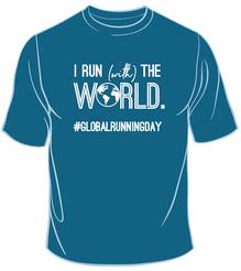I Run (With) The World Tee