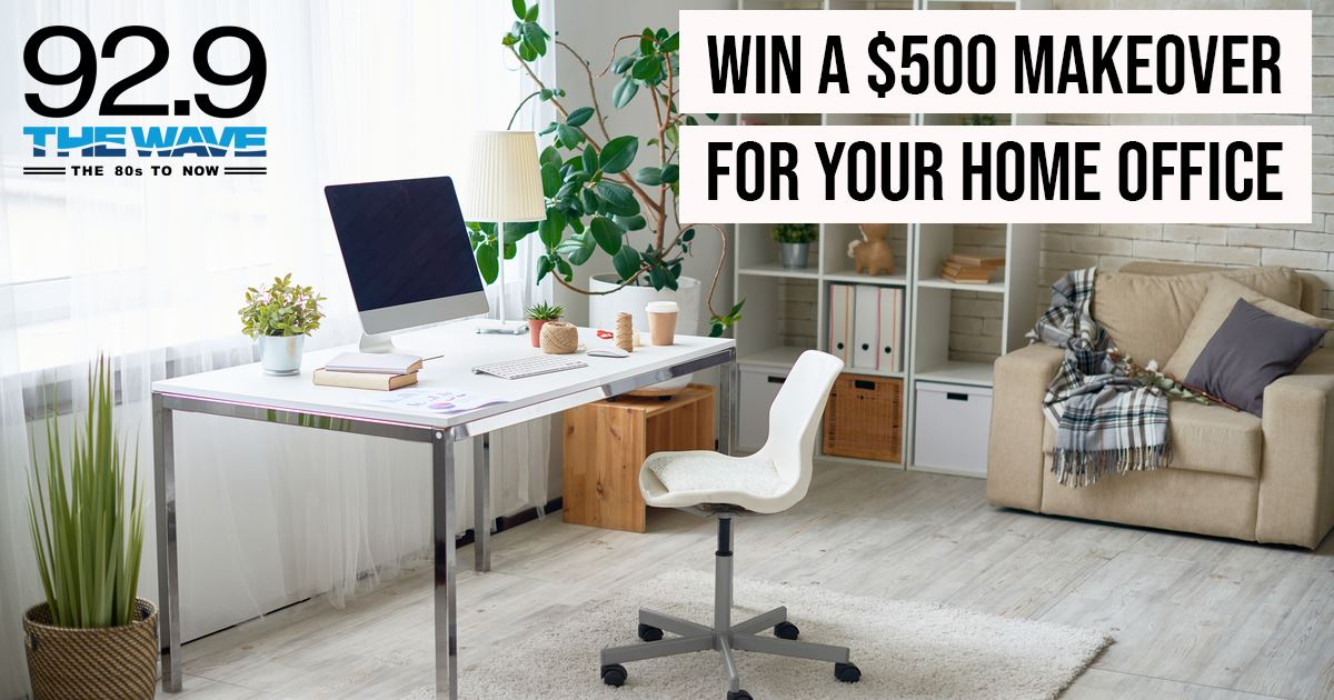 WIN A $500 MAKEOVER FOR YOUR HOME OFFICE