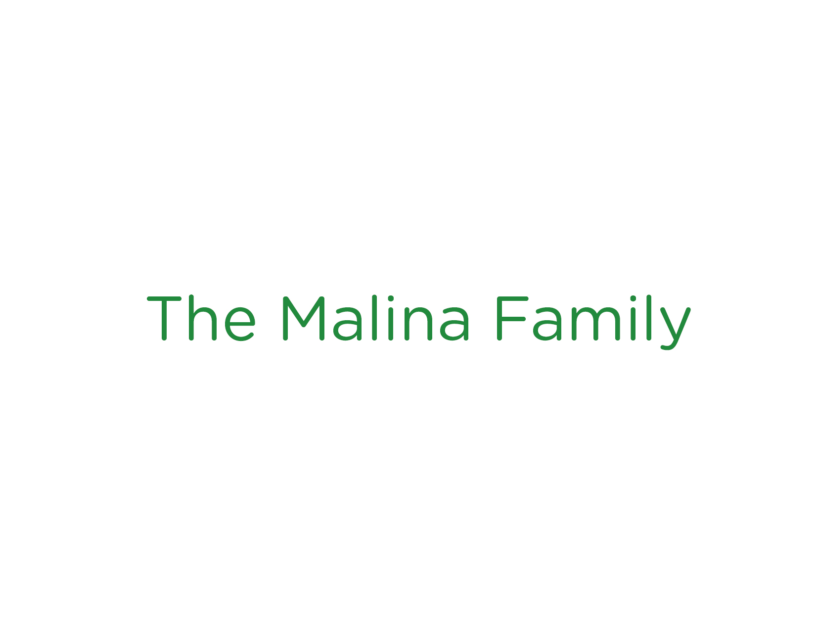The Malina Family