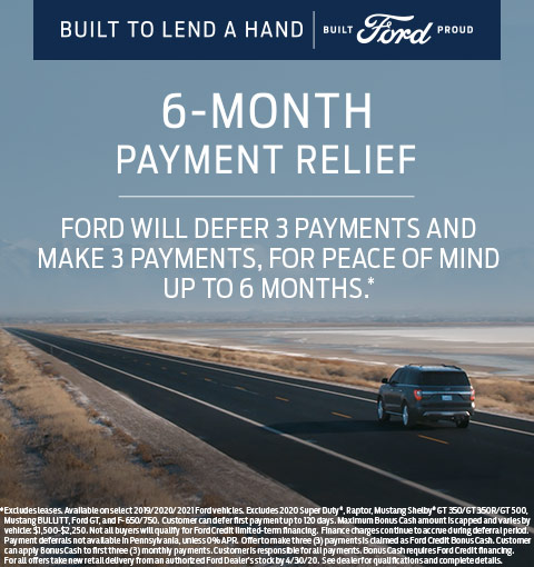 From Your Local Ford Dealer