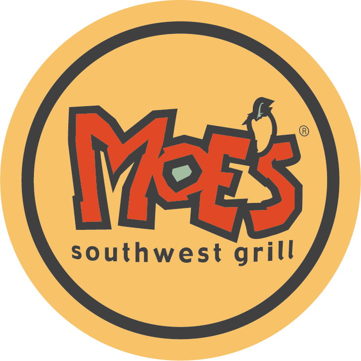 We're Still Here To Welcome You To Moe's Logo
