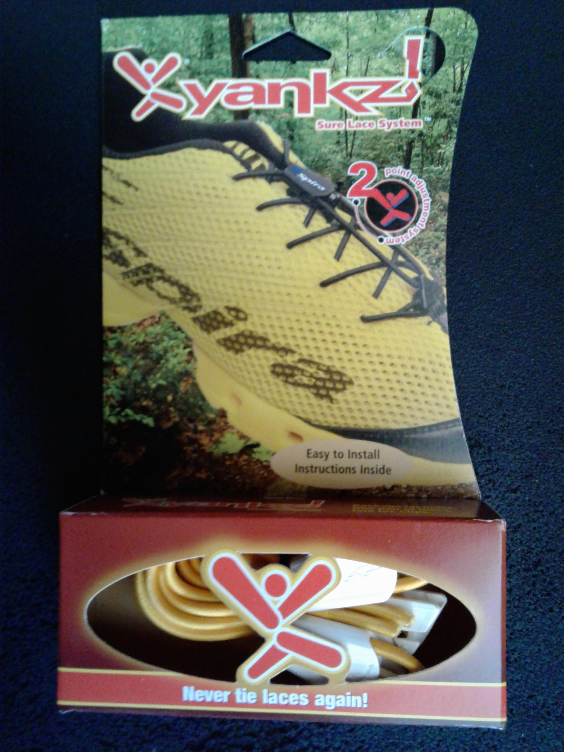 Yankz Laces - Yellow