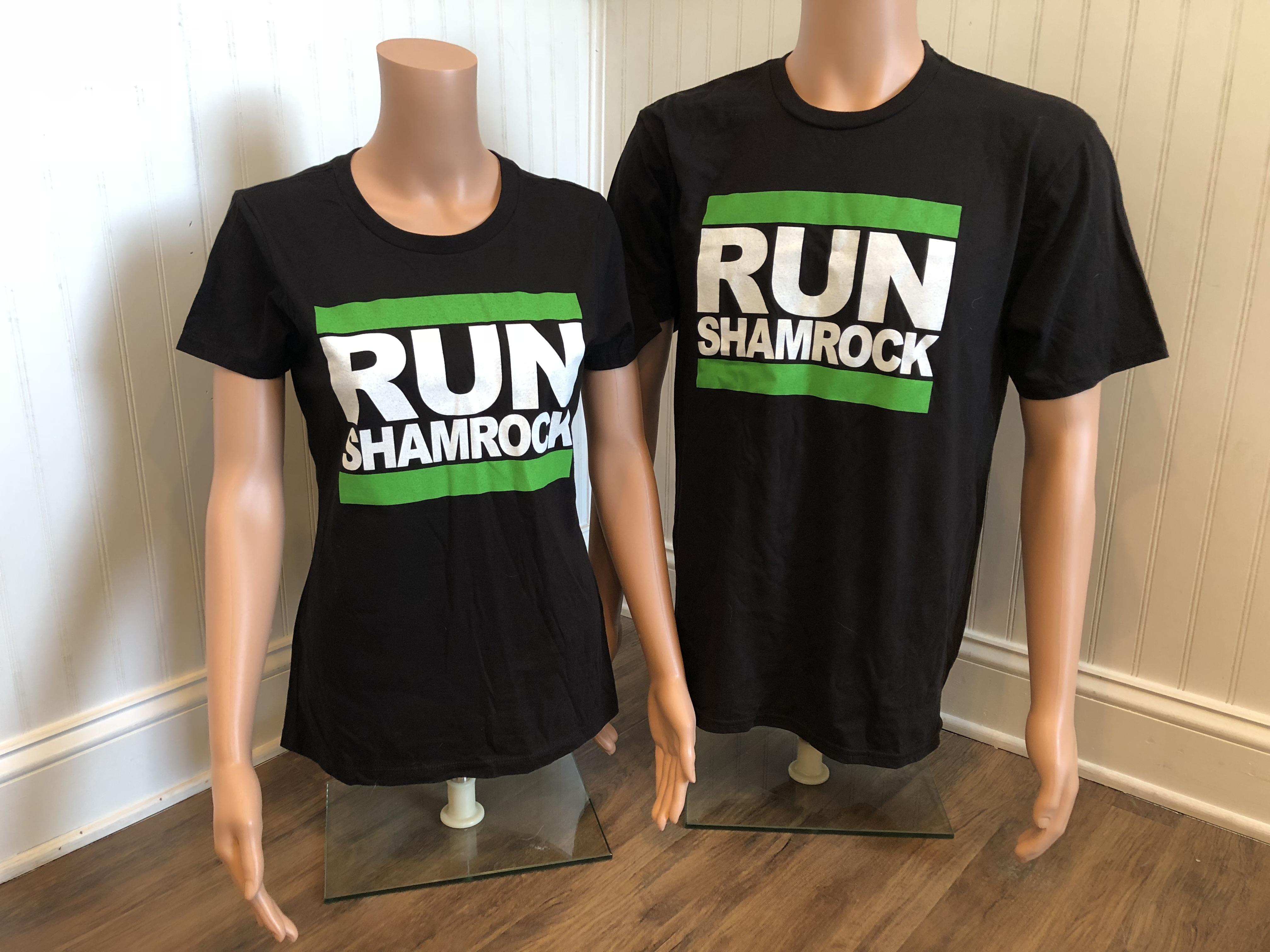 RUN Shamrock t-shirt