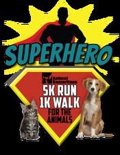 ANIMAL SAMARITANS' SUPERHEROES RUN/WALK