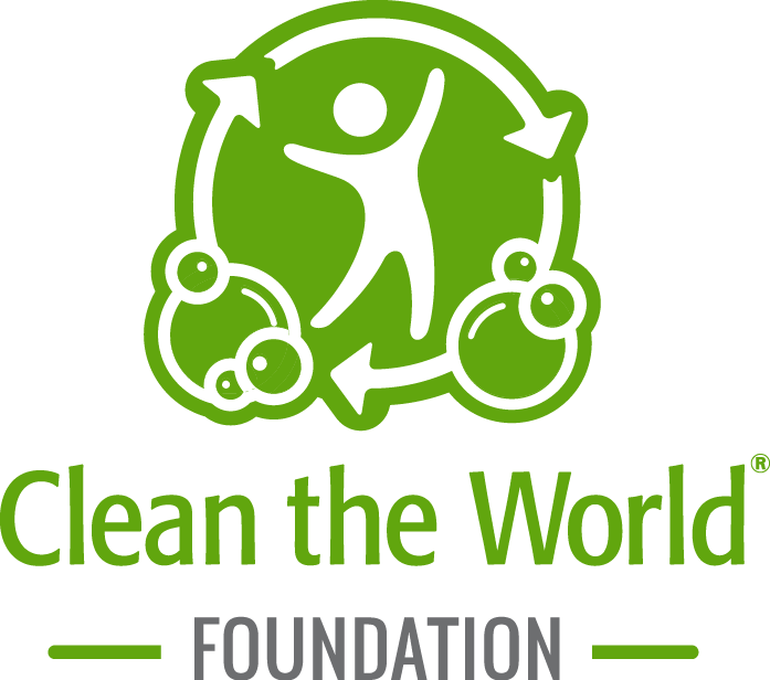 Volunteer with Clean the World! Logo