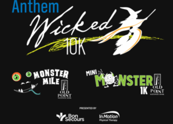 2018 Anthem Wicked 10K, Old Point National Bank Monster Mile  logo