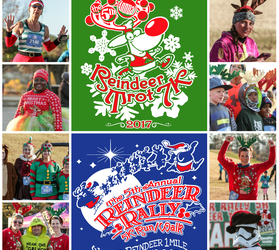 Reindeer Trot 7k & Reindeer Rally 5k & The  Kids Christmas Mile