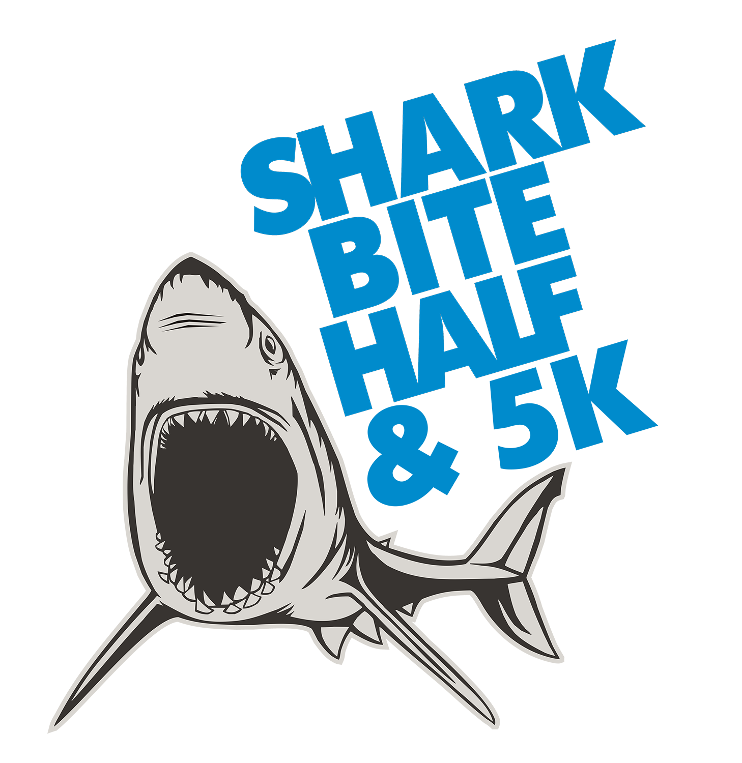 Shark Bite half Logo