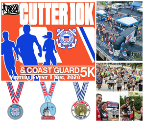 The Virtual Cutter 10K, Coast Guard 5K & The Sea Otter 1/4 Mile Dash
