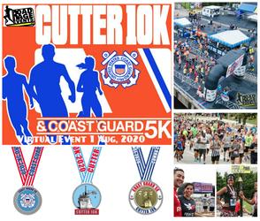 The Virtual Cutter 10K, Coast Guard 5K & The Sea Otter 1/4 Mile Dash