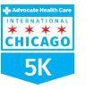 Run the Advocate Health Care International Chicago 5K Logo