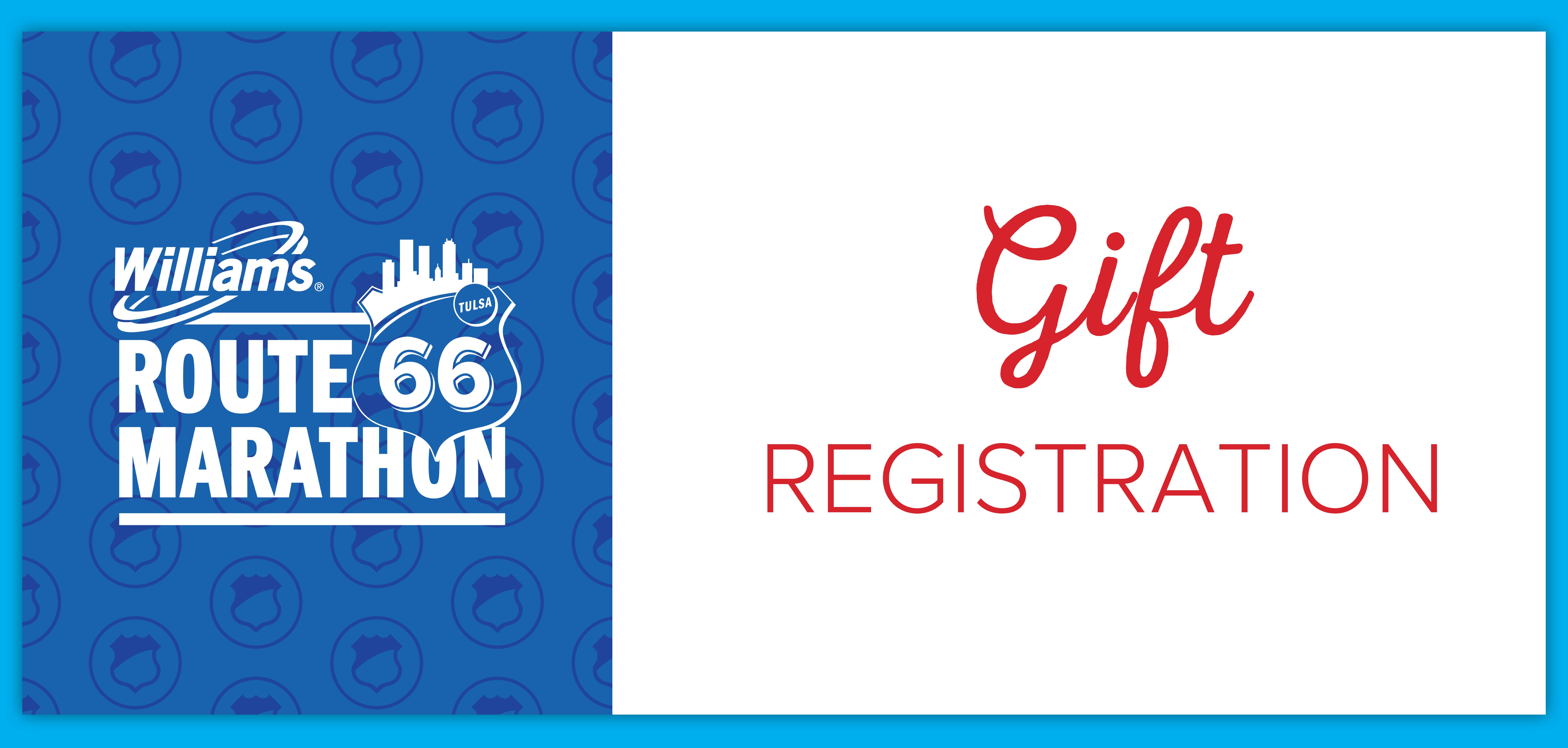 Gift Registration - Half Marathon