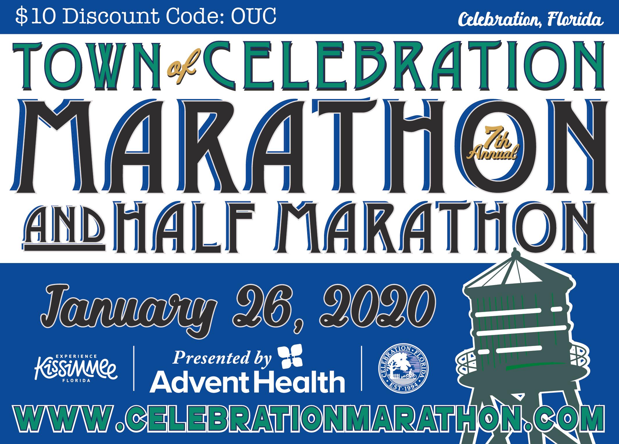 Celebration Marathon & Half